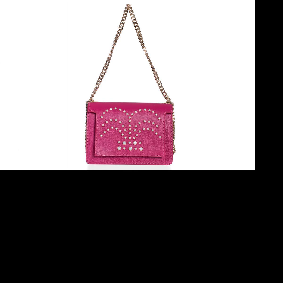 Geanta Lauren Pink Pearls