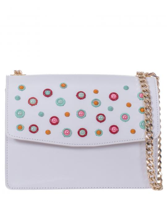 white ladies bag